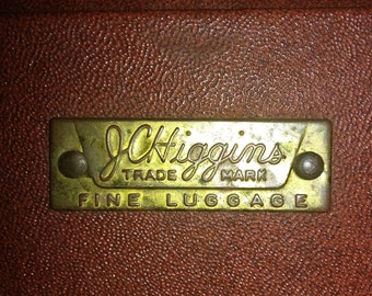 Vintage JC Higgins fine luggage from the 19 1920