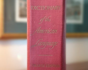 Webster's New World Dictionary of the American Language College Edition/1968