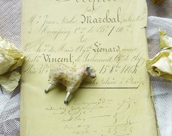 Antique document, Legal, handwritten, France, dated 1864..CHARMANT!