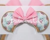 Cinderella Castle Minnie Ears