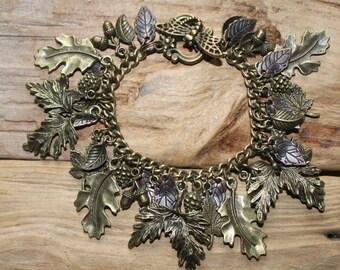 Woodland Charm Bracelet- Small