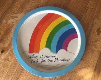 When It Rains Look For the Rainbow Tray