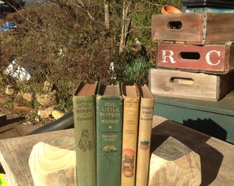 Geometric reclaimed wood bookends