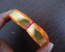 gota ribbon, golden trim, indian gota, gota patti border, wedding decoration, gota lace