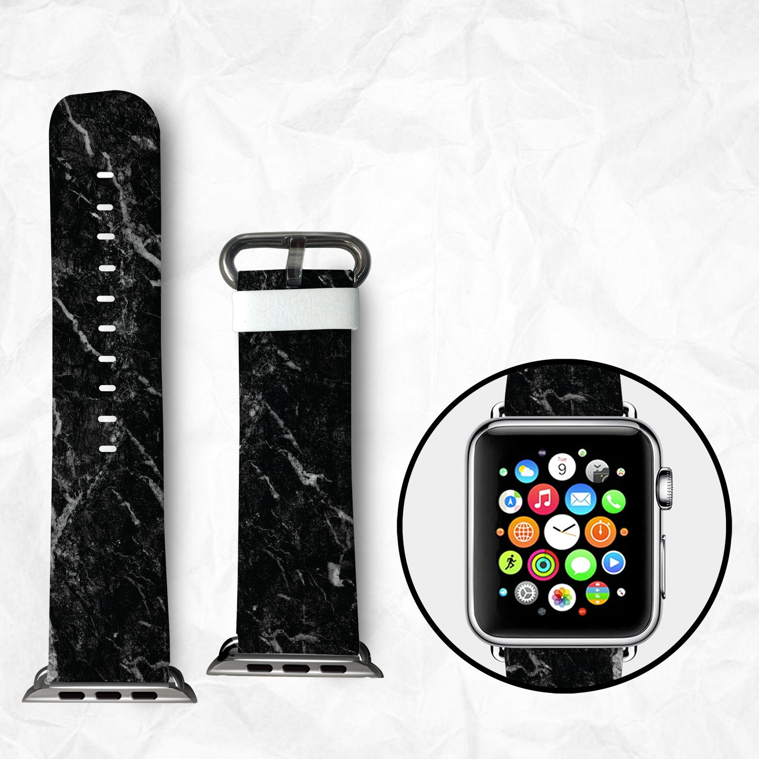 handmade apple watch series 2 strap apple watch series 2. Black Bedroom Furniture Sets. Home Design Ideas