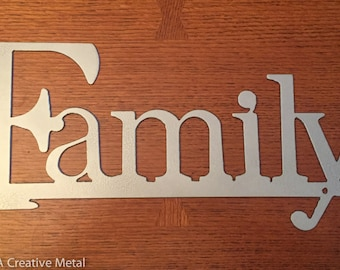 Family Wall Hanging Sign