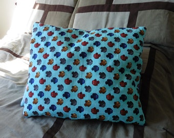 Colorful Cat pillow