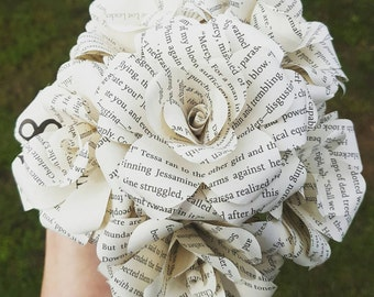 Clockwork Angel Book Bouquet- Wedding- Valentines- Book lover