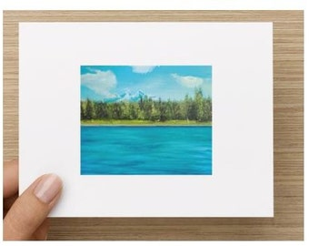 Stationery-Mountains/Outdoors Note Cards