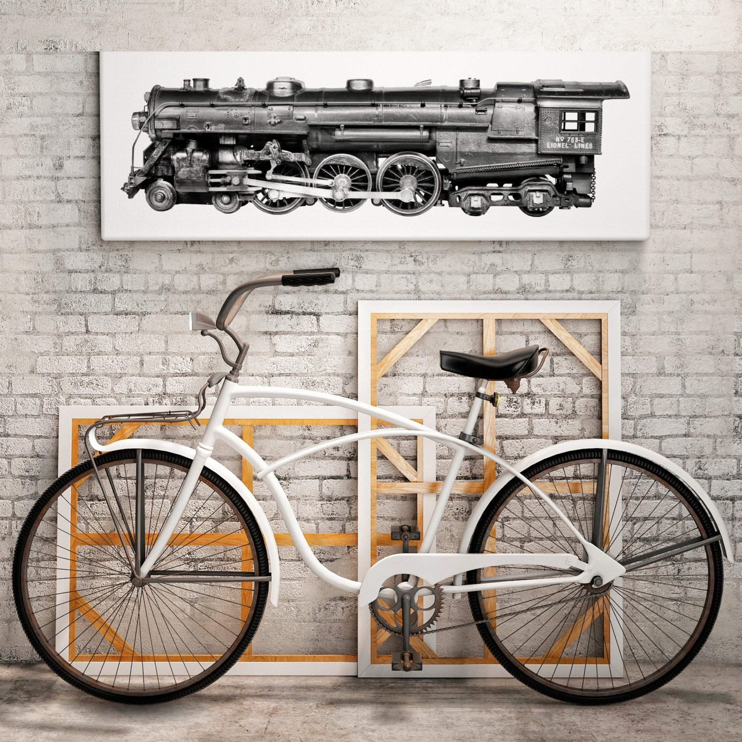 Trains Steampunk Decor Industrial Wall Decor By