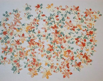 100 - Mini Flower  Die Cuts for Scrapbooking, Etc. - Lot 1