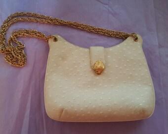 Biege Vintage Handbag by Morle