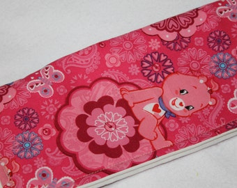 Care Bears Eye Glass Case, Care Bears Sunglass Case, Pink eyeglass case, sunglass case, padded glass case, cloth glass case, Sunglass Case