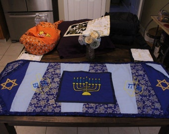 Hannuhak Table Runner/Alter Top Machine Embroidery