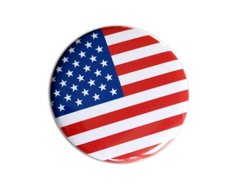 Round Pocket mirror with flag of your choice in 56mm