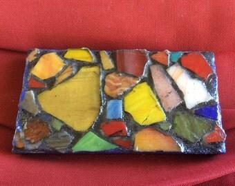 Small mosaic art hanging
