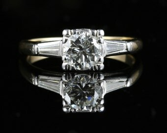 Antique Victorian Diamond Ring 1.32ct