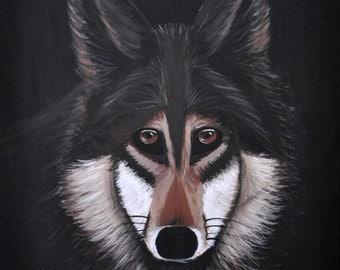 Wolf 8x10 print