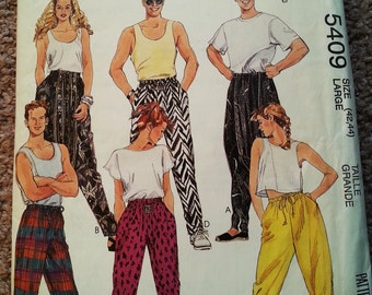 McCall's  sewing pattern, vintage  sewing pattern, vintage sewing pattern, 1980's sewing pattern, 1980's pattern A6