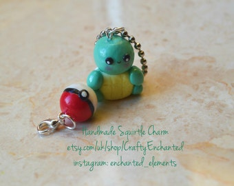 Squirtle Pokemon Charm