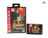 Castlevania Bloodlines Reproduction (Sega Genesis, 1994) Repro