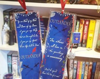 Outlander bookmark- Handmade