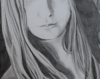 Hand drawn Portrait From Your Picture / Custom portrait