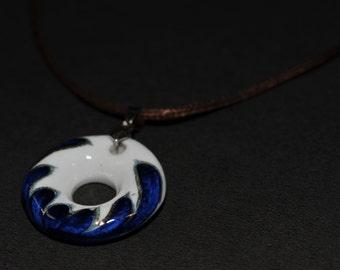 White & Blue Porcelain