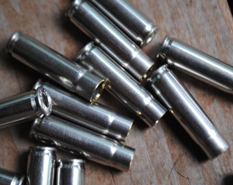 Lot of 15 Used 300 AAC Blackout/Whisper Nickle Plated Brass
