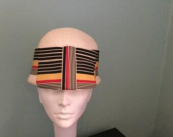 Vintage YSL 60's Straw cloche style Hat