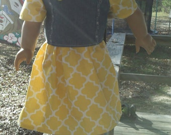 18 inch doll outfit, American Girl doll outfit