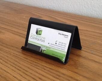 Desk business card holder, i phone holder, smart phone holder