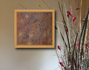 Abstract Painting on Canvas by CHARLES WEBSTER