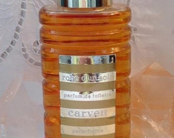 Carven, Robe d'un Soir, 200 ml. or 6.76 oz. Flacon, Parfum de Toilette, 1947, Paris, France ..