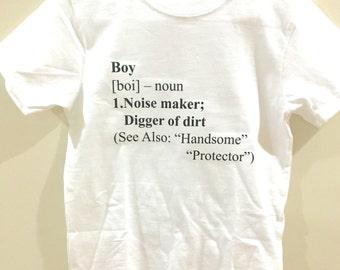 Boy a noun shirt