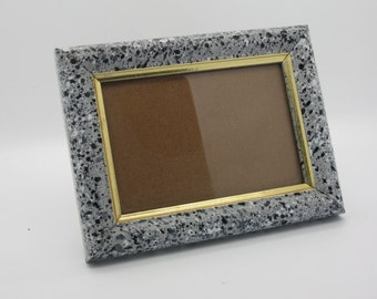 Cement Look Table Top Picture Frame