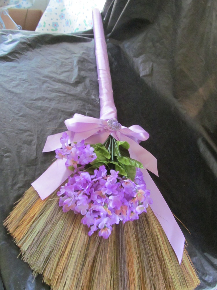 sale decorated wedding jump broom jumping by jumpbroom