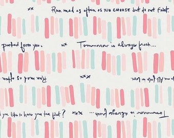 Quoted 1/2 Yard, Paperie Cotton by Art Gallery Fabrics
