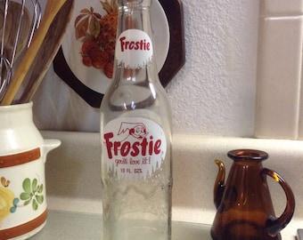 Vintage Frostie Root Beer Soda Bottle Soda Bottle Collecting
