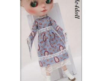 SALE - style4doll dress for Blythe