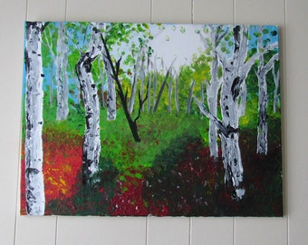 Manitoban Autumn - Large Acrylic Landscape Painting