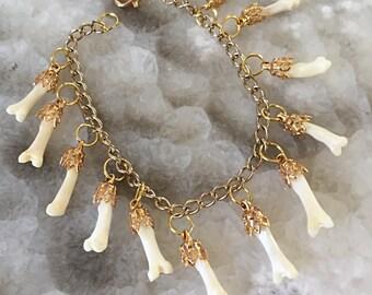 Lovely Bones Charm Bracelet