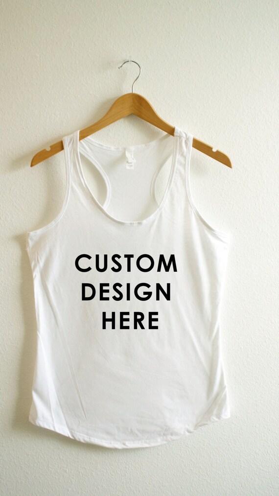 Custom Shirt Create Your Own Shirt Workout Shirt Custom
