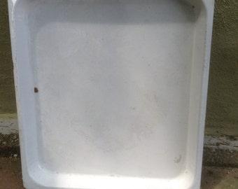 Large Enamelware Tray