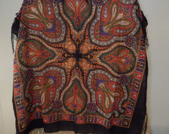 Russian Made Shawl Vintage