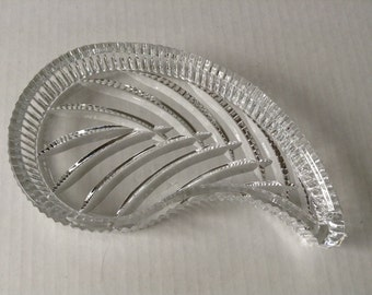 Waterford Crystal Leaf Tray/Dish