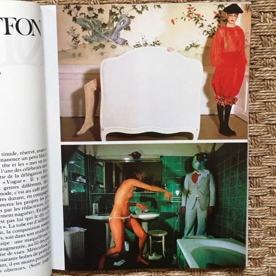 Photo Magazine, September 1978 - Rare Guy Bourdin images