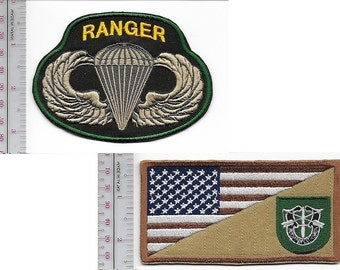 Ranger US Army 10th Special Forces Group Airborne & Ranger Parachutist Wings