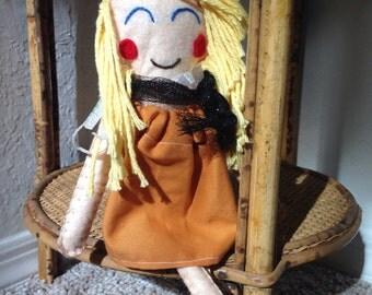 Felt dolls.!