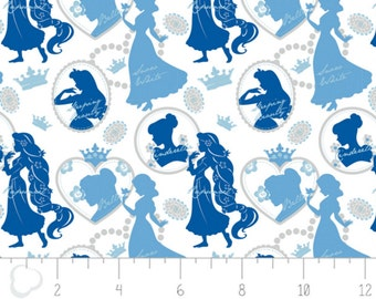 Disney Silhouette in Blue Fabric From Camelot